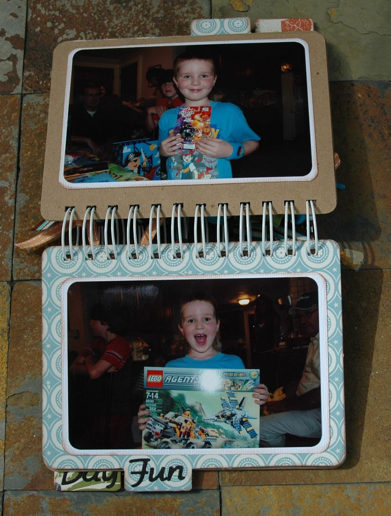 Projects Sean's 8th birthday book 007