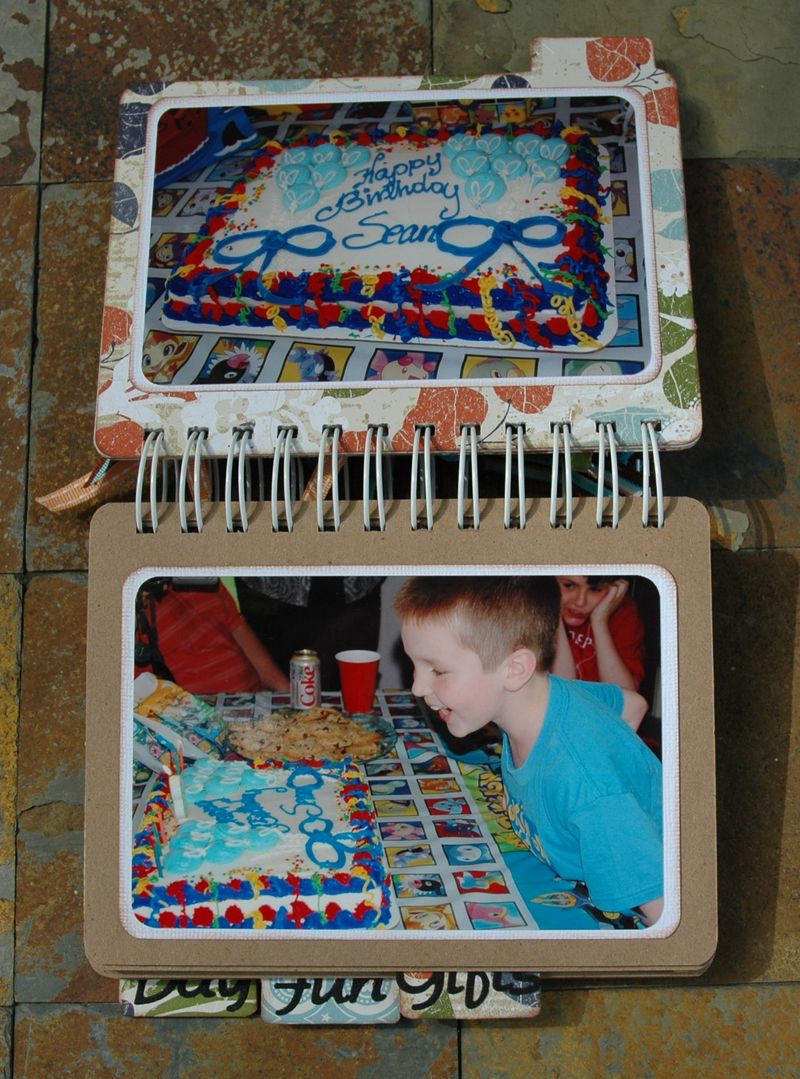 Projects Sean's 8th birthday book 002